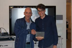 xxx a Sx premia Federico Baldelli